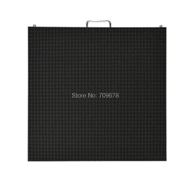 Открытый P3.91 Прокат 500x500 мм Литья Алюминия SMD RGB СВЕТОДИОДНЫЙ Дисплей Кабинета (P4.81/P5.95/P6.25 доступны)