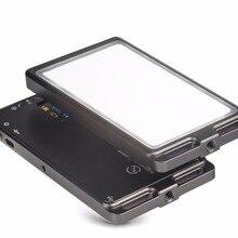 SUNWAYFOTO FL-96 светильник для фотосъемки 3000 k-5500 k светодиодный экран с регулируемой цветовой температурой бесступенчатое управление выходом