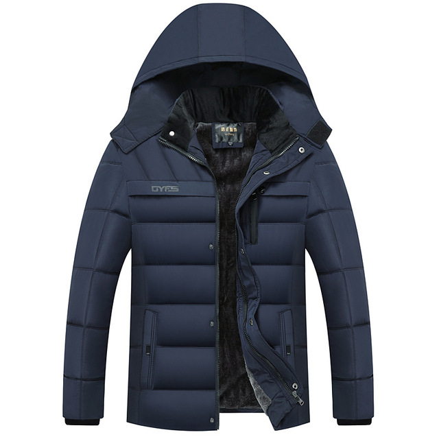 FAVOCENT Winter Jacket Men Thicken Warm Men Parkas Hooded Coat Fleece Man's Jackets Outwear Windproof Parka Jaqueta Masculina 1