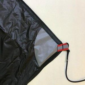 Image 3 - UL GEAR 3F LanShan 2, huella de tienda, 2, huella de nailon original, 210x110cm, hoja de tierra de alta calidad