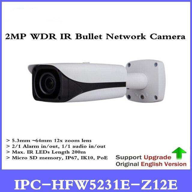 DH IPC-HFW5231E-Z12E 2MP Full HD WDR Réseau IR Caméra Bullet Starlight IPC-HFW5231E-Z12E, expédition libre de DHL