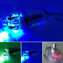 Deep Water LED Fishing Light Flash Set Fish Light Band Hook Up Lure Fish Device Lead Fish Fishing Underwater Lamp