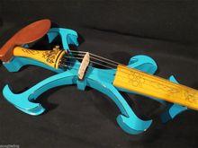 Handmade New Model Blue Color Top Model 5 Strings 4/4 Electric Violin Violino Case Bow String Instrument