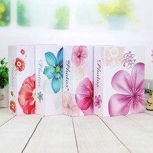 6 дюймов 4 стиля DIY Тип вставки фотоальбом бумага фото искусство держатель для хранения фотографий альбом книга для подарка случайный цвет