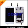 HK Post + Rastreamento No. 100% testado de Garantia para o LG Optimus G2 D800 D801 D803 F320 LCD Digitador Assembléia Quadro-preto/branco