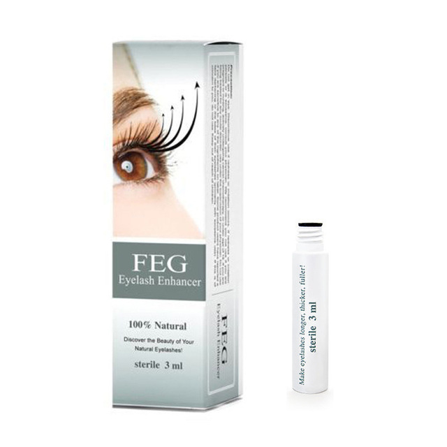 FEG Eyelash Growth Enhancer Natural Medicine Treatments Lash Eye Lashes Serum Mascara Eyelash Serum Lengthening Eyebrow Growth 3