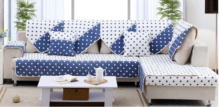 Europe typenon slip mat of cloth art sofa cushion cover for Sofa cushion covers made to order