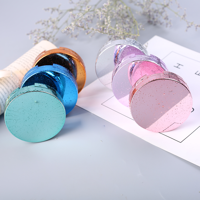 Luxury Roundness Contact Lens Case Color Water Eye Box Popular Travel with Mirror