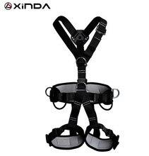 XINDA Professional Rock Climb Mountaineering Equipment High Strength Polyester Climbing Foot Padel Belt Ascending Device Band