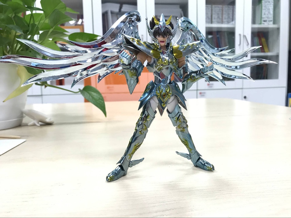 in stock God Saint Pegasus TV  Saint Seiya Cloth EX metal armor GREAT TOYS GT toy PayPal Payment arrival 2018.01.10 in stock death mask cancer saint seiya myth cloth ex s temple st metal club mc ex toy release 2017 4 02 paypal payment