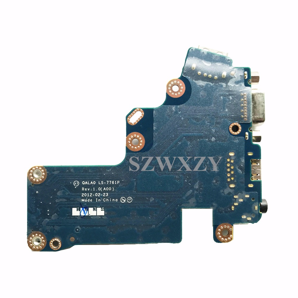 medium resolution of for dell latitude e6530 series usb port audio vga board 07trkr 7trkr qala0 ls 7761p full tested free shipping in computer cables connectors from computer