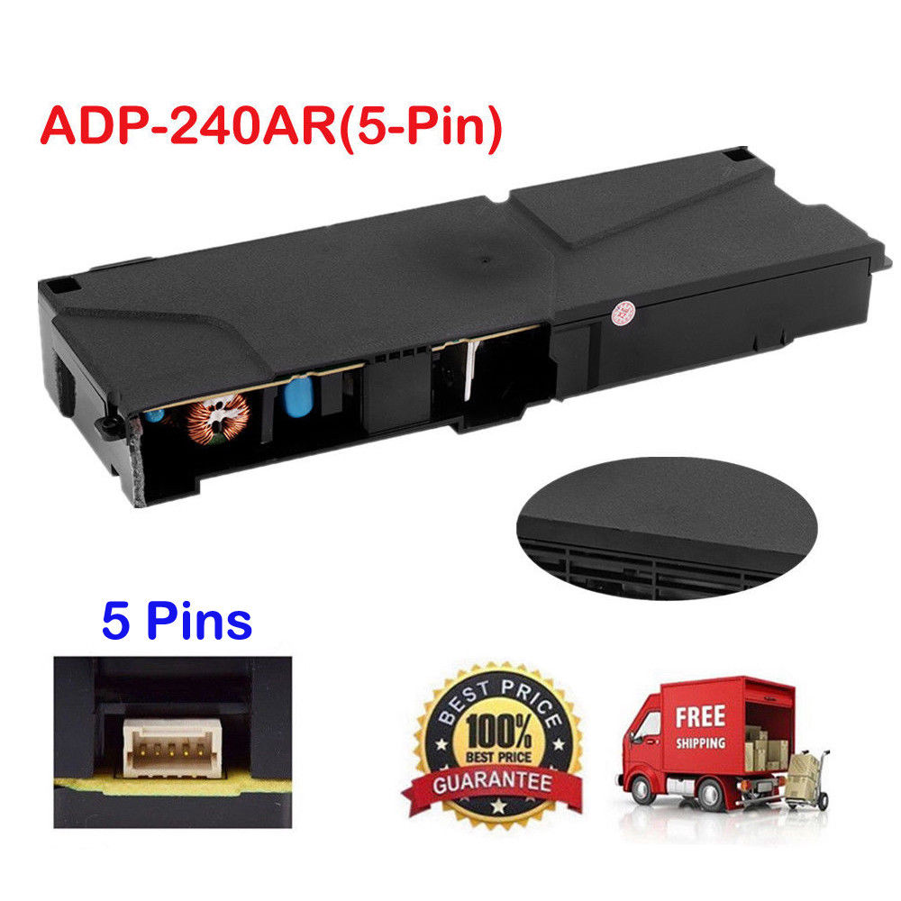 Genuine Power Supply Unit ADP-240AR/240CR/160CR/200ER for Playstation 4 PS4 Slim Repair Parts CUH-1001A 1115A N14-200P1AGenuine Power Supply Unit ADP-240AR/240CR/160CR/200ER for Playstation 4 PS4 Slim Repair Parts CUH-1001A 1115A N14-200P1A