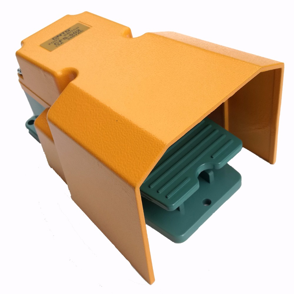 CFS-502 1A1B 250 V 15A protection industrielle pédale unique commutateur au pied pour Machine à CNC soudage estampage Action momentanée