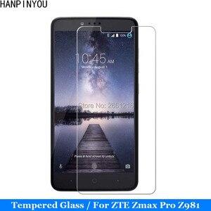 For ZTE Z Max Pro Z981 Tempered Glass 9H 2.5D Premium Screen Protector Film For ZTE Zmax Pro Z981 Z988 6.0 Inch(China)