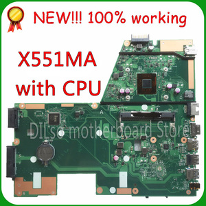 KEFU x551ma For ASUS X551MA Laptop Motherboard motherboard N2815 F551MA motherboard 90NB0480-R00100 REV2.0 Test