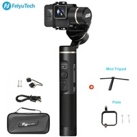 FeiyuTech Feiyu G6 Handheld Gimbal Stabilizer For Gopro Hero 6 5 RX0 Action Camera Wifi+BlueTooth OLED Screen Elevation Angle
