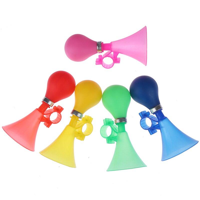 Детская велосипедная сигнализация с кольцом для руля для мальчиков и девочек, многоцветный велосипедный громкий звонок, детский Забавный в...