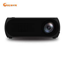 Gigxon-G320 Proyector LCD Portátil 400-600 LM Soporte USB/SD/AV/Entrada HD para HD de Vídeo de Cine En Casa/Cine/Juego/TV Mostrando