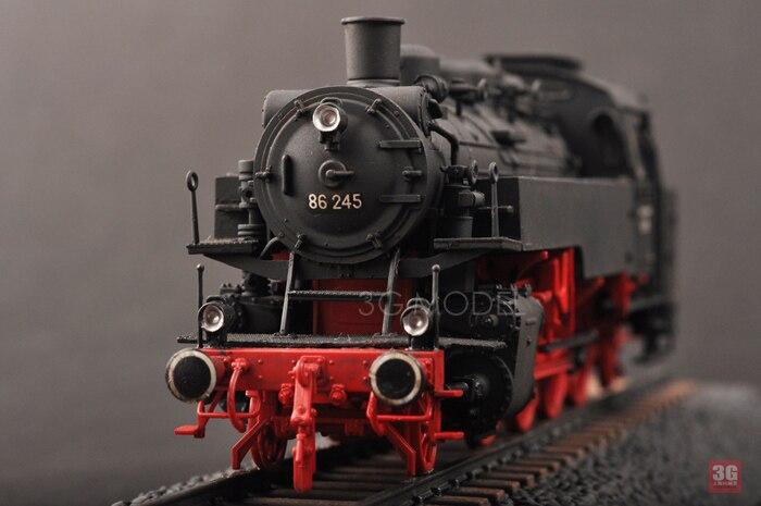 Bricolage assembler le Train modèle 82914 1/72 allemand BR86 Locomotive à vapeur