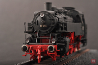 DIY Assemble Train Model 82914 1 72 German BR86 Steam Locomotive