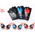 2017 medio dedo guantes sin dedos de alta calidad mountai bicicleta bicicletas motocicleta motocross moto sports bike mtb ciclismo guantes