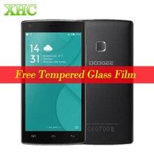 """Doogee x5 max 5.0 """"8 gb 1 gb mtk6580 quad core 1.3 ghz android 6.0 wcdma 3g smartphone 4000 mah 360 degrés d'empreintes digitales téléphone portable"""
