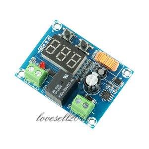 Image 4 - XH M609 DC 12V 36V модуль зарядного устройства защита от переразряда напряжения точный модуль защиты от пониженного напряжения модуль зарядного устройства