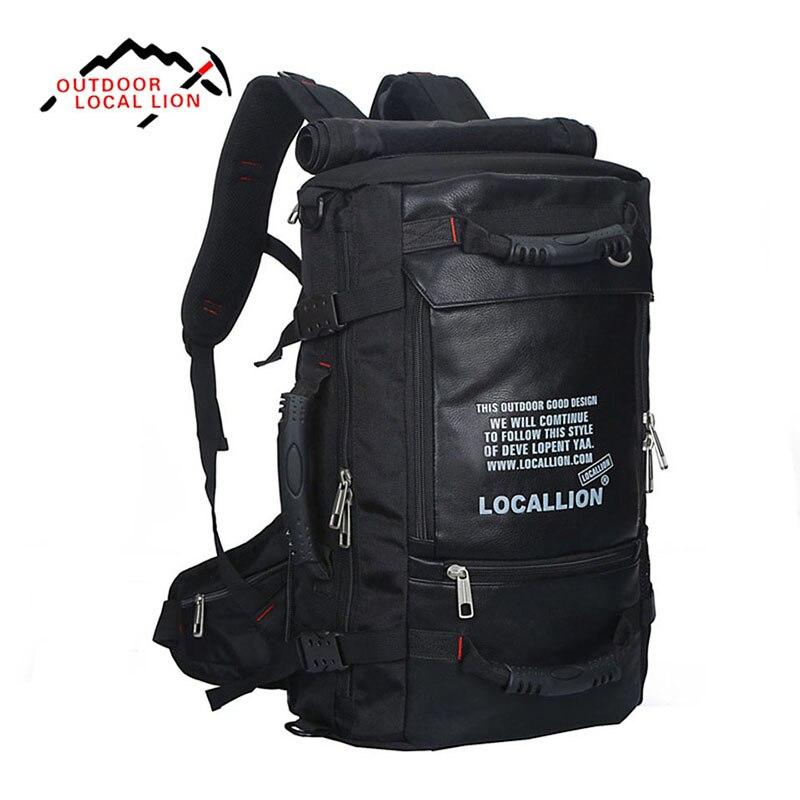 45L большой ёмкость Спорт на открытом воздухе Multi Функция водостойкая сумка профессия Альпинизм Восхождение Путешествия Отдых пеший туриз