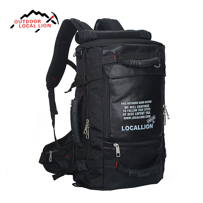45L Large Capacity Outdoor Sport Multifunction Waterproof Bag Profession Mountaineering Climbing Travel Camping Hiking Backpack