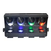 American DJ плоским SlimPar Quad 7 RGBW цвет смешивания светодио дный Вт 7x12 Вт DMX свет поднимающий свет доставка