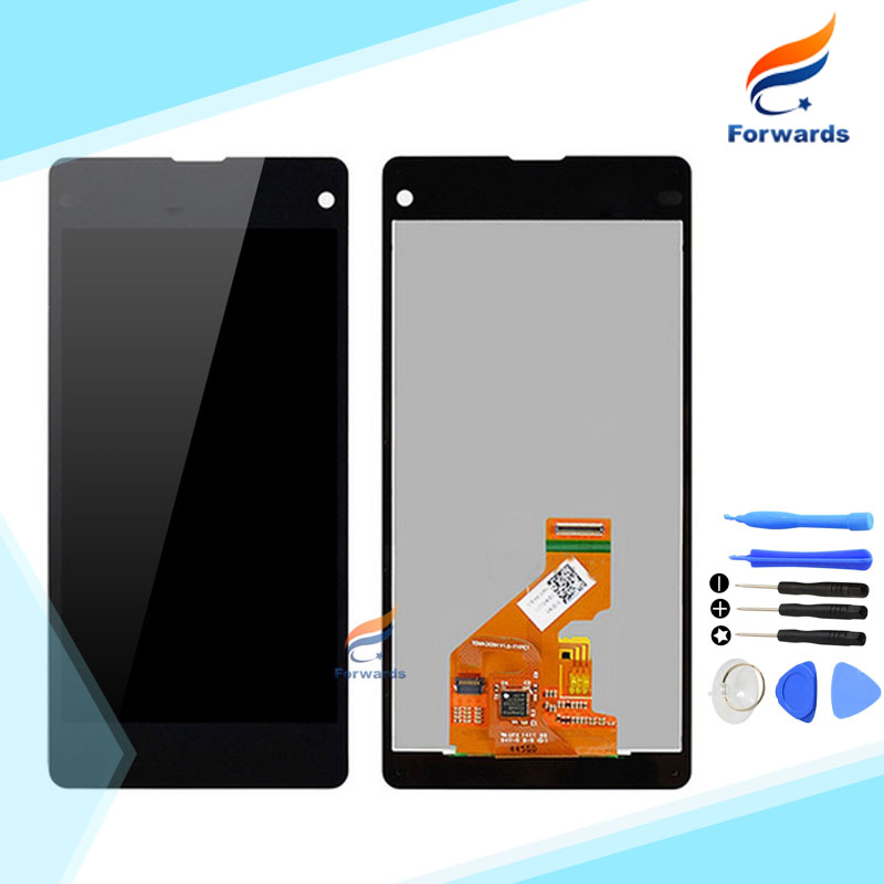 10pcs/lot free DHL/EMS shipping for Sony Xperia Z1 Mini Compact M51W D5503 LCD Screen Display with Touch Digitizer Tool Assembly 10pcs lot dhl ems free shipping 100