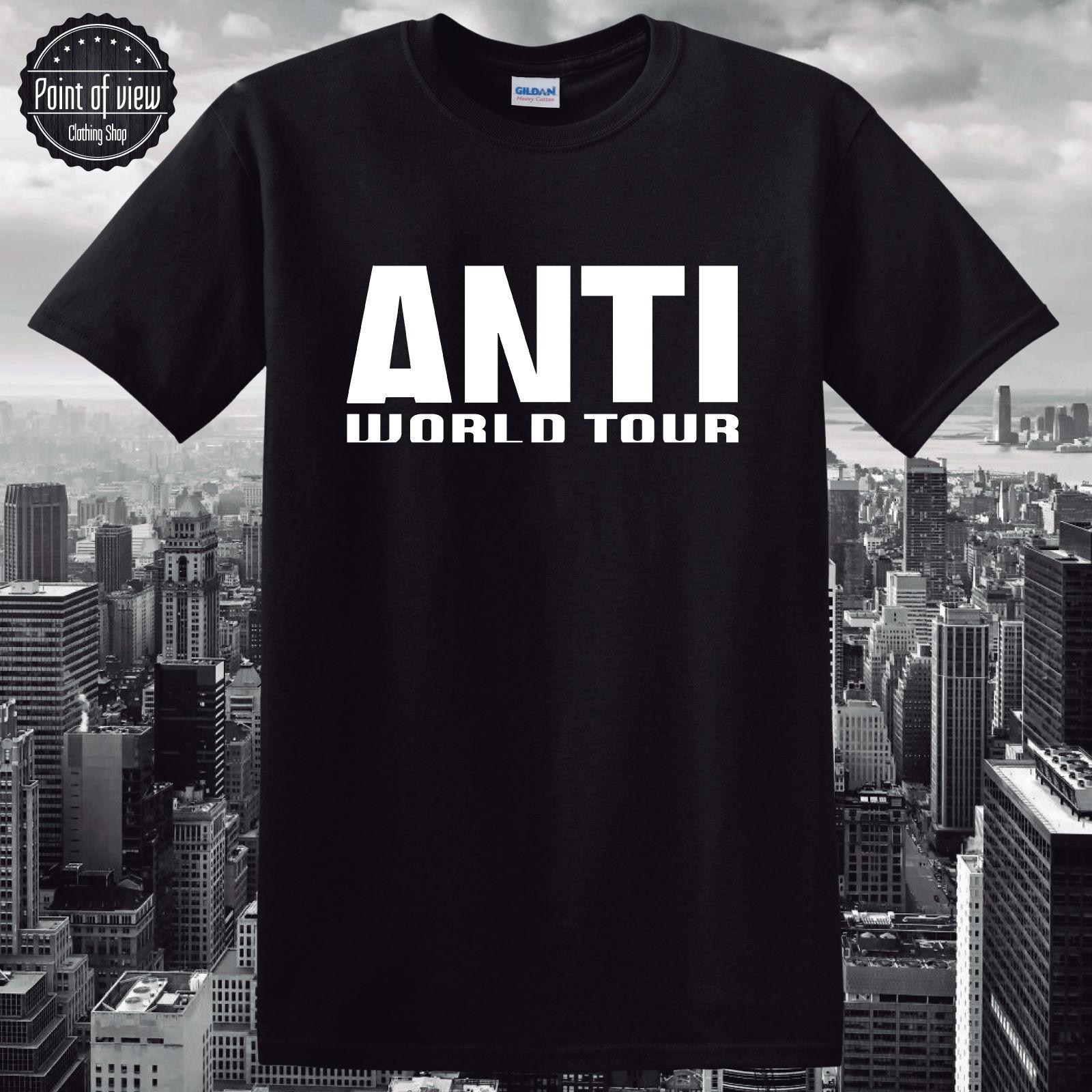 Jay z black t shirt white cross - Jay Z Black T Shirt White Cross T Shirt Rihanna Anti Tour 2016 Fanshirt Rihanna Download