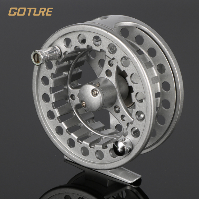Goture ALC Fly Fishing Reel  5/6 7/8 WT Aluminum Frame Spool Left Right Hand Die Casting Fly Reel Coil Pesca 2+1BB