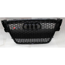 Car styling 2008~2011 A5 RS5 Style All black Front Bumper mesh Grill Grille For Audi A5