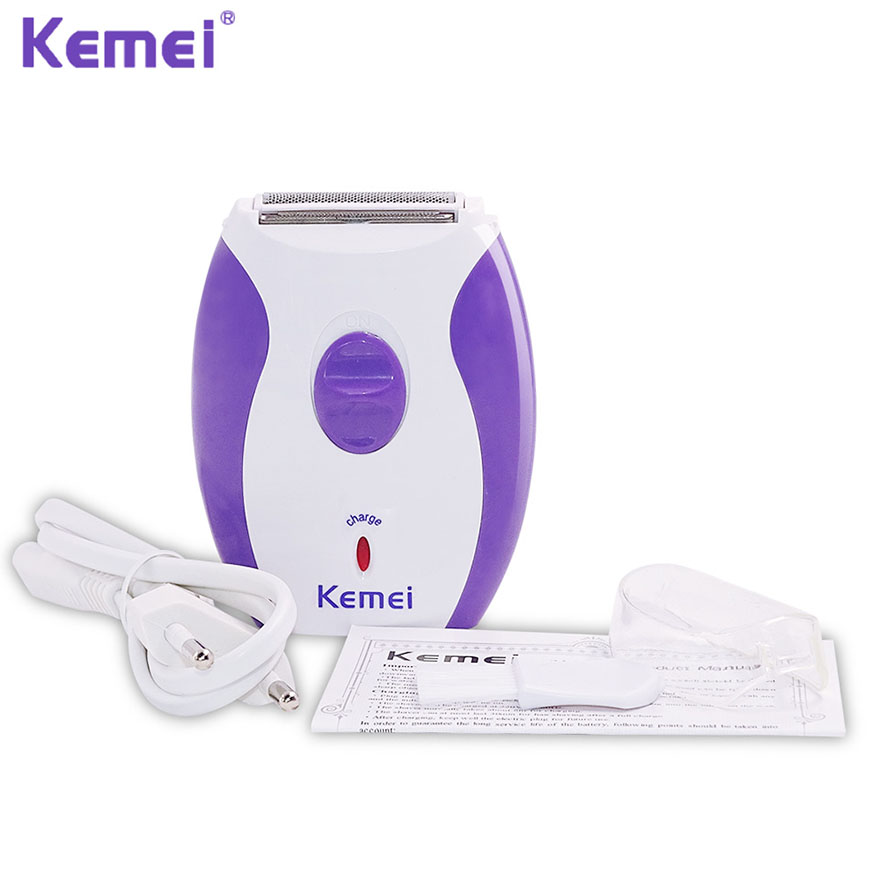 Kemei Mini 3 in 1 Women Electric Shaver Hair Removal Epilatos