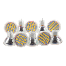 10pcs MR11 GU4 Warm White 3528 SMD 24 LED Home Spotlight Light