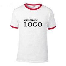 Camiseta fresca nueva marca personalizada hombres de manga corta Camiseta  transpirable de los hombres imprimir su ba86066e275