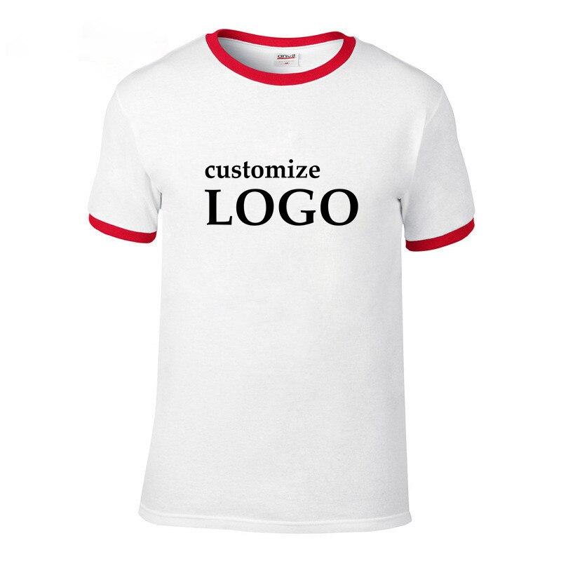 vraiment à l'aise variété de dessins et de couleurs meilleur € 6.86 44% de réduction|Cool nouvelle marque T shirt personnalisé hommes  manches courtes hommes respirant T shirt imprimer votre propre Design ...