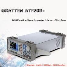GRATTEN ATF20B + генератор сигналов двойной канал DDS Функция формы генератор частоты метр 20 МГц 100MSa/s