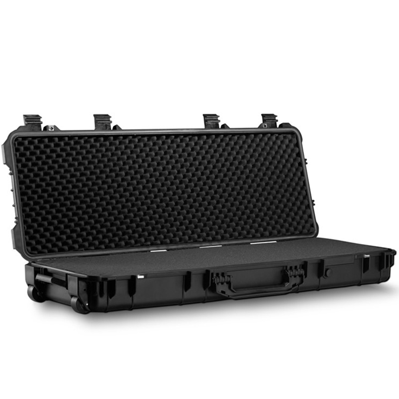 45 Inch Shockproof Waterproof Photography Safety Case Instrument Box Toolbox Outdoor Box 110x40x16cm