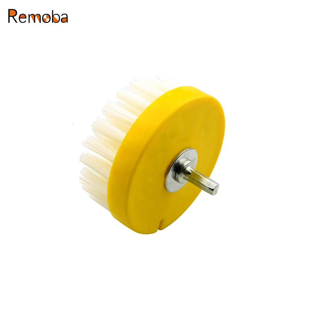 Dia. 110mm Electric Floor Cleaning Brush Drill Power Tool for Removing Stubborn Stains on Stone Mable Ceramic tile