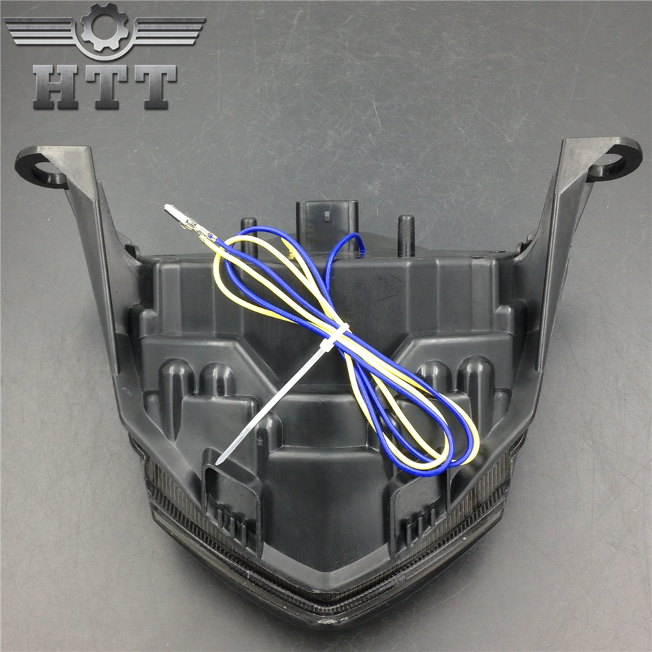 Aftermarket free shipping motorcycle parts LED Tail Brake Light for Kawasaki Z750 Z1000 ZX-10R ZX1000 ZX-6R ZX600 SMOKE aftermarket free shipping motorcycle parts led tail brake light turn signals for yamaha 2004 2009 fz6 fazer 600 clear