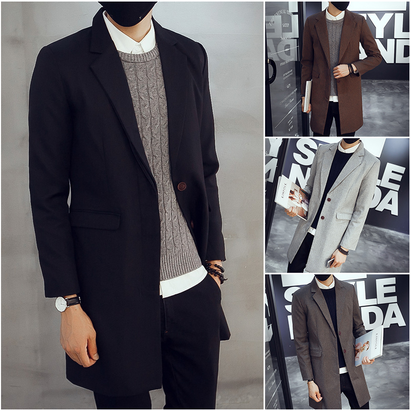 Compare Prices on Mens Long Coat Blazer- Online Shopping/Buy Low ...