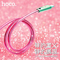 ORIGINAL HOCO U9 Zinc Alloy Jelly Knitted for Lightning Charging Cable for iPhone iPad free shipping