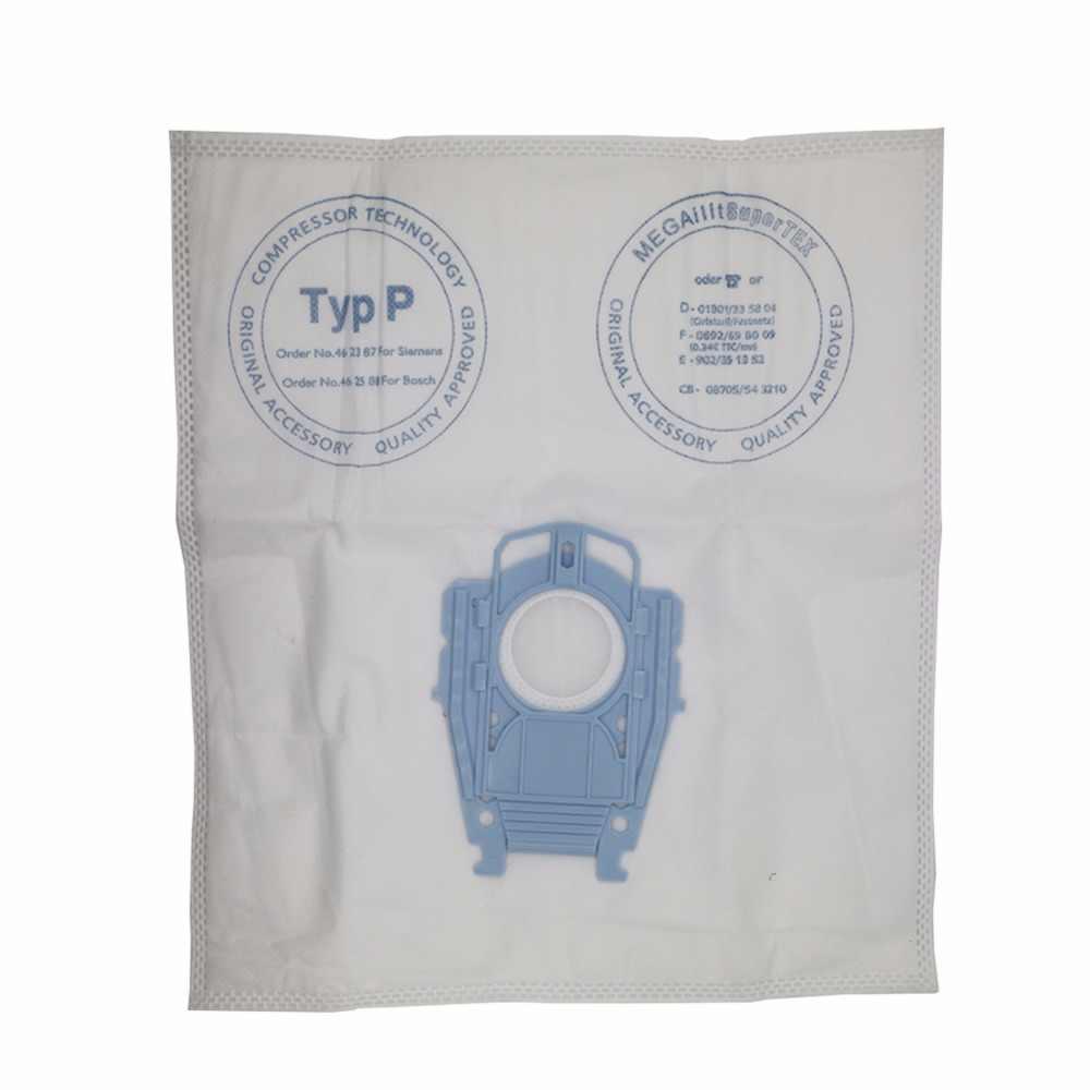5 ชิ้น/ล็อตดีเครื่องดูดฝุ่น Microfleece ประเภท P กรองฝุ่นสำหรับ Bosch Hoover สุขอนามัย Professional BSG80000 468264 461707