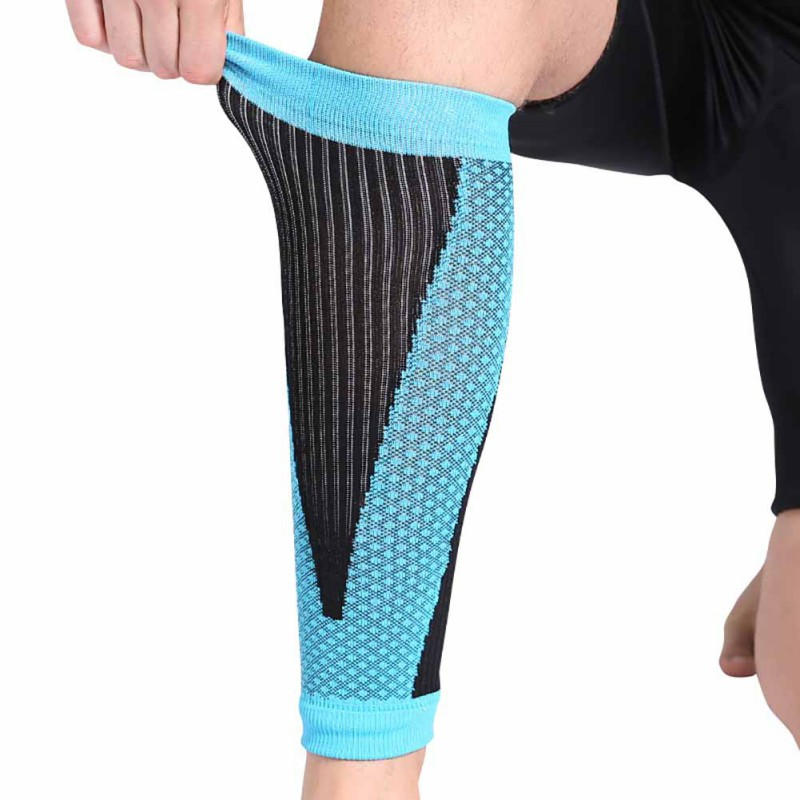 Breathable Running Cycling Compression Calf Sleeves 1