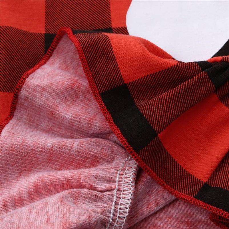 kawaii christmas plaid dress for toddler girls causal comfortable girls dress sweet soft dress conjunto menina 4OT1 (3)