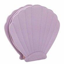 Hot Sales 10pcs Makeup Brush Bag Purple Package Shell Brush Diamond Brush