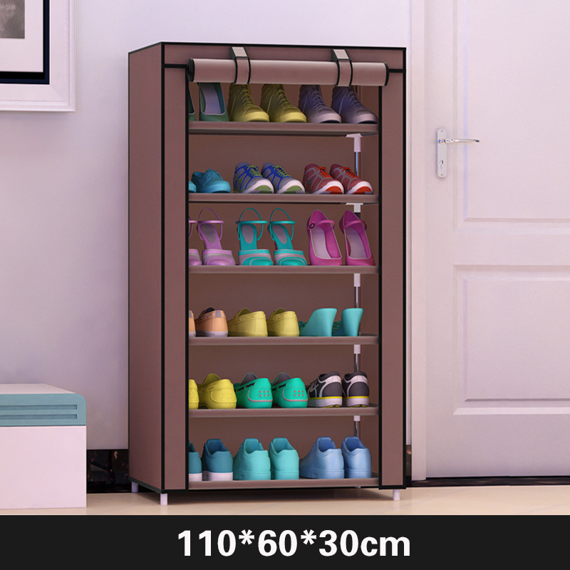 Image 3 - Actionclub Simple  Practical Small  Shoes  Rack Multifunction Dustproof Shoes Organizer Shelf In The Hallway Home Furniture-in Shoe Cabinets from Furniture