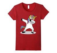 Dabbing Unicorn Shirt Dab Hip Hop Funny Magic T Shirt Cartoon Brand Clothing For Women Plus